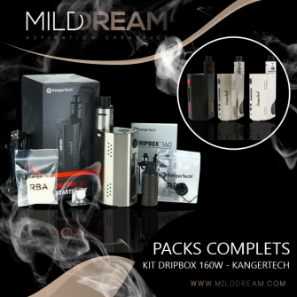 KIT DRIPBOX 160W - KANGERTECH